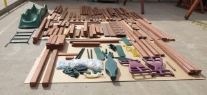 Wooden Swingset Parts
