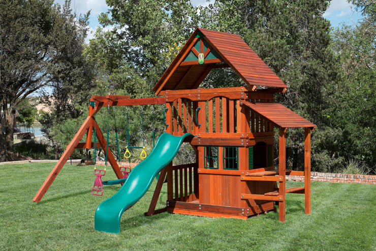Wooden Swing Sets in Amarillo
