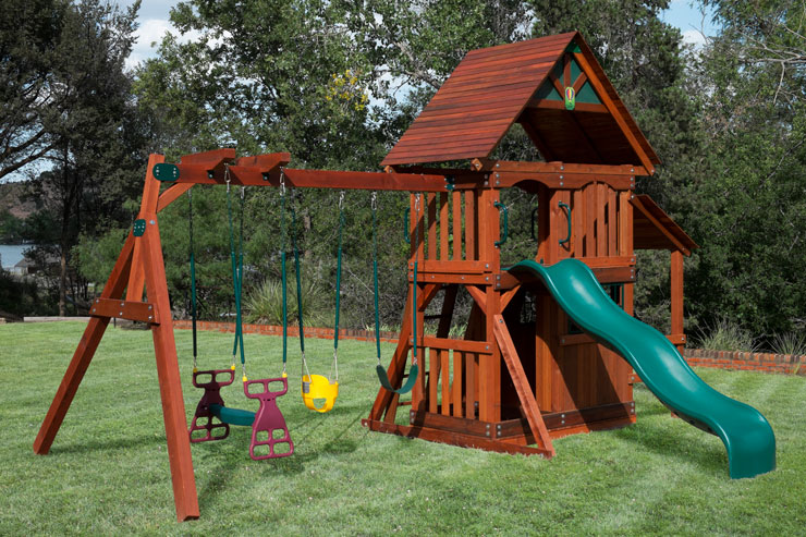 Odessa wooden Swing sets