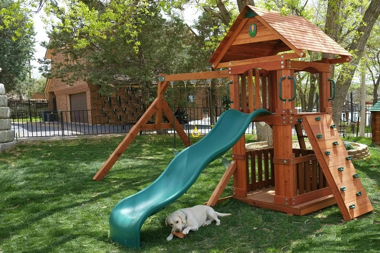 Kansas Wooden Swingsets