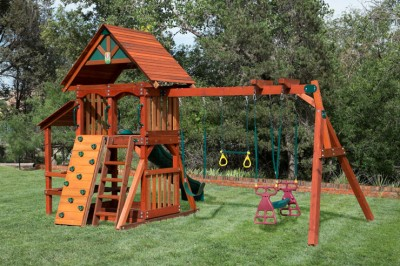 Wooden Swing set Givaway