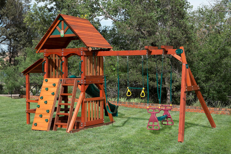 Wooden Swing Set With Slide Houston Amp Dallas