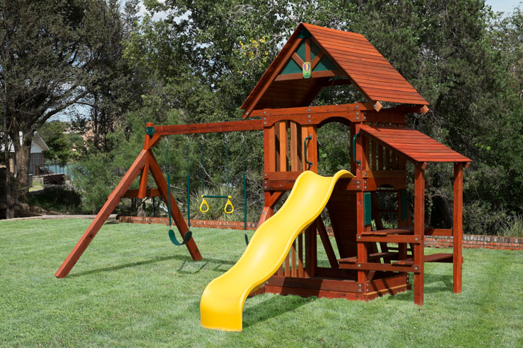 Texas Wooden Swing set