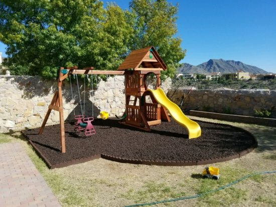 Backyard Wooden Swing Sets In Dallas Tx