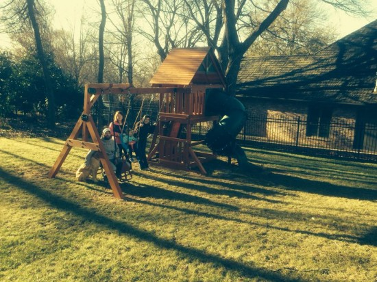 Oklahoma Wooden Swing Sets
