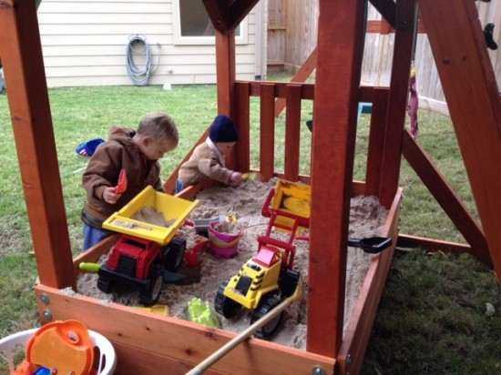 Wooden Play Set Houston