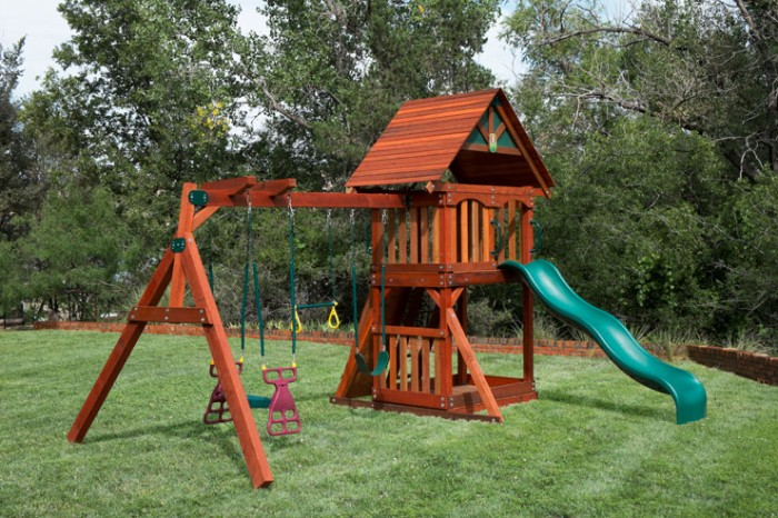outdoor swing sets installed in houston tx