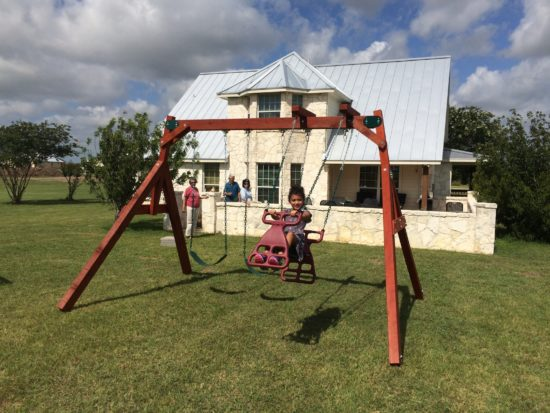 Wooden Small Yard Swing Set, SALE 25% off and free ...