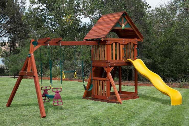 Wooden Playsets At Discount Prices Houston Swing Sets 25