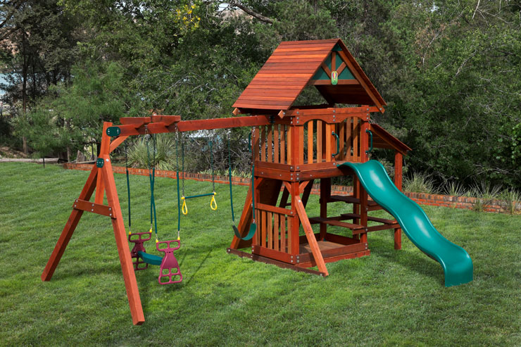 Wooden Swing Sets in Fort Worth TX