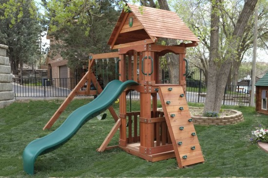 San Angelo Wooden Swing Sets