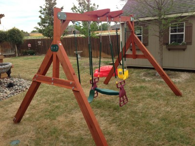 Midlothian Wooden Swing Set