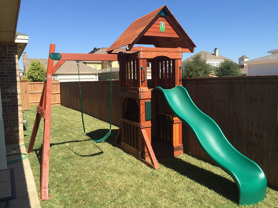 Lubbock Texas Swingset
