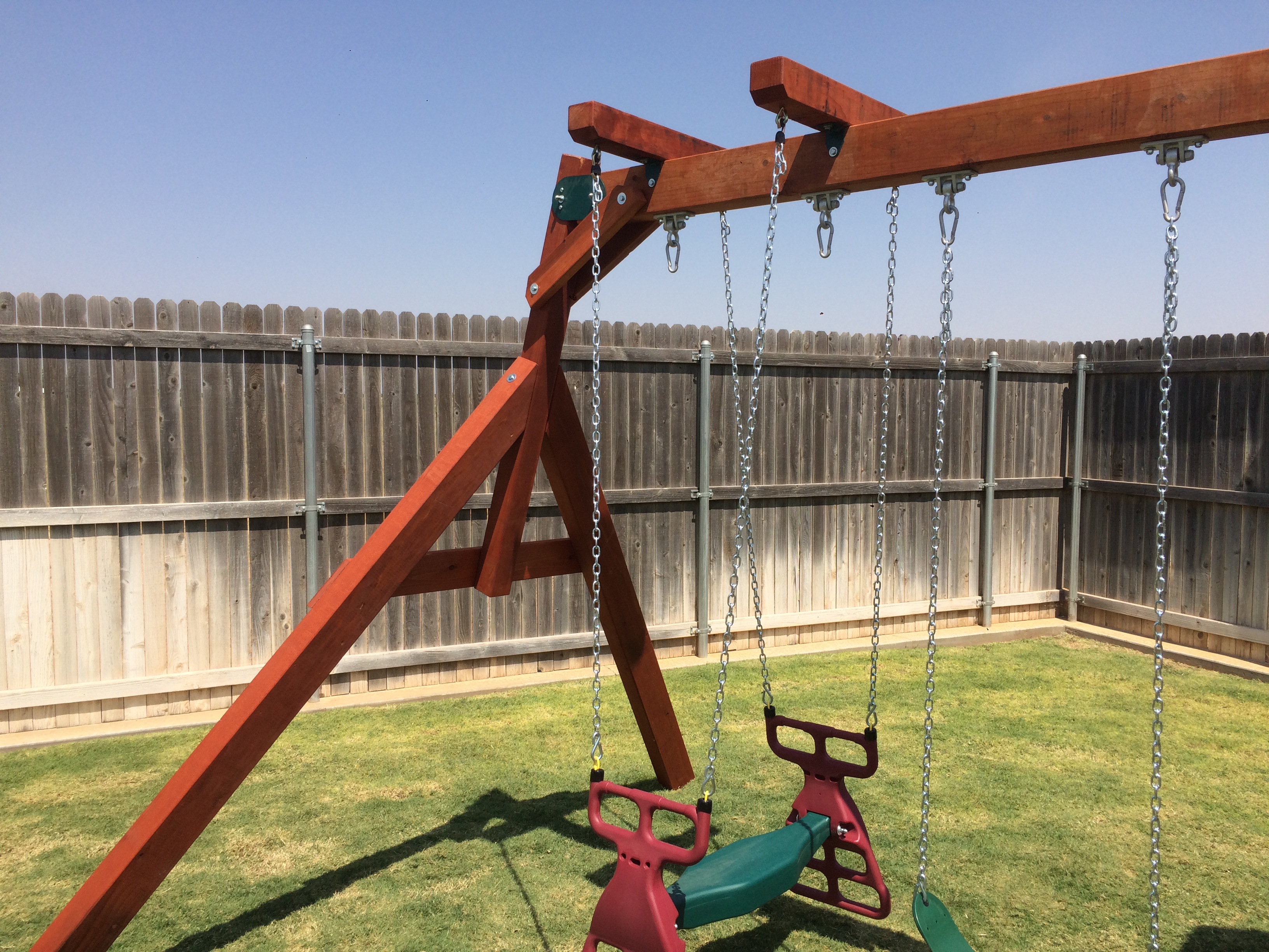 backyard wooden swing sets texas madewesttexasswingsets com