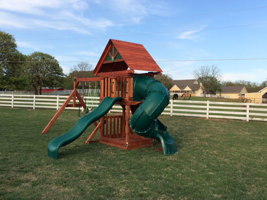 Wooden Swing Sets in Louisiana