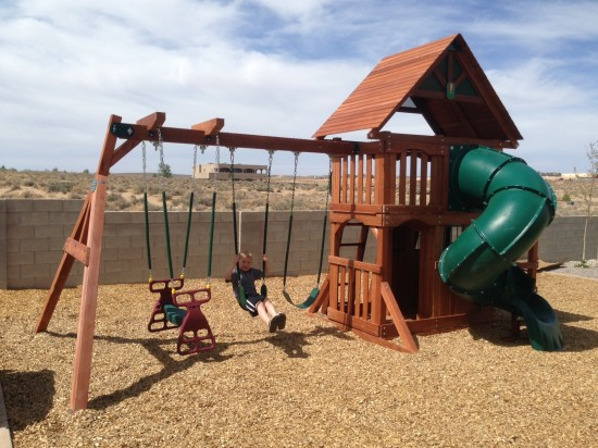 Albuqurque New Mexico Swing Set