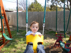 Amarillo Wooden Swingsets
