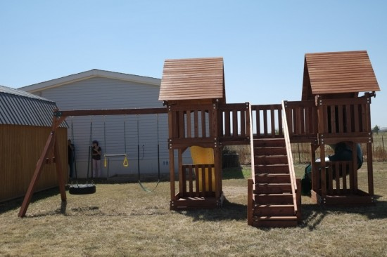 Custom Swing Sets Lubbock