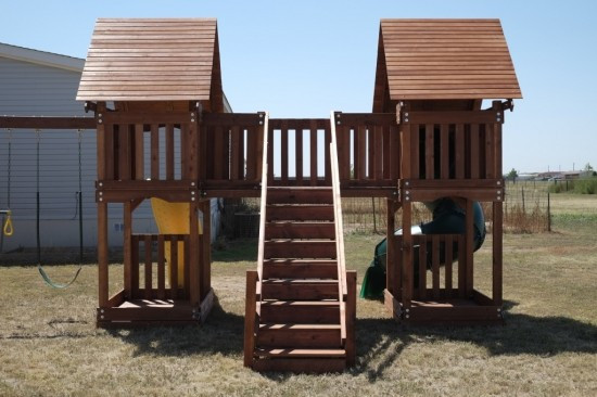 Houston Wooden Swing Sets