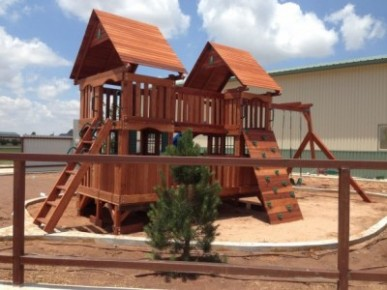Dallas Wooden Swing Sets